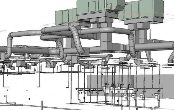 Моделирование вентиляционных и